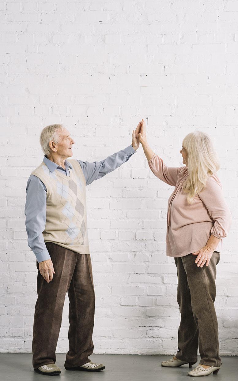 matrimonio tercera edad y memoria