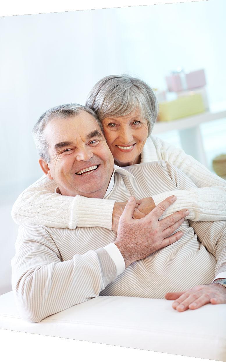 pareja tercera edad y memoria
